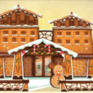 Gingerbread House at Disneyland's Grand Californian Hotel