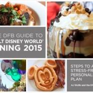 Disney Food Blog Announces 'DFB Guide to Walt Disney World Dining 2015' ebook