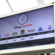 Digital Disney Transport Signs Spotted at Disney's Contemporary Resort